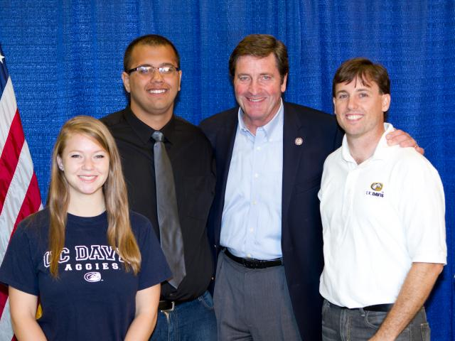 garamendi and students