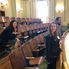 Jan Ng and Noelle Patterson at State Capitol-Assembly Gallery image